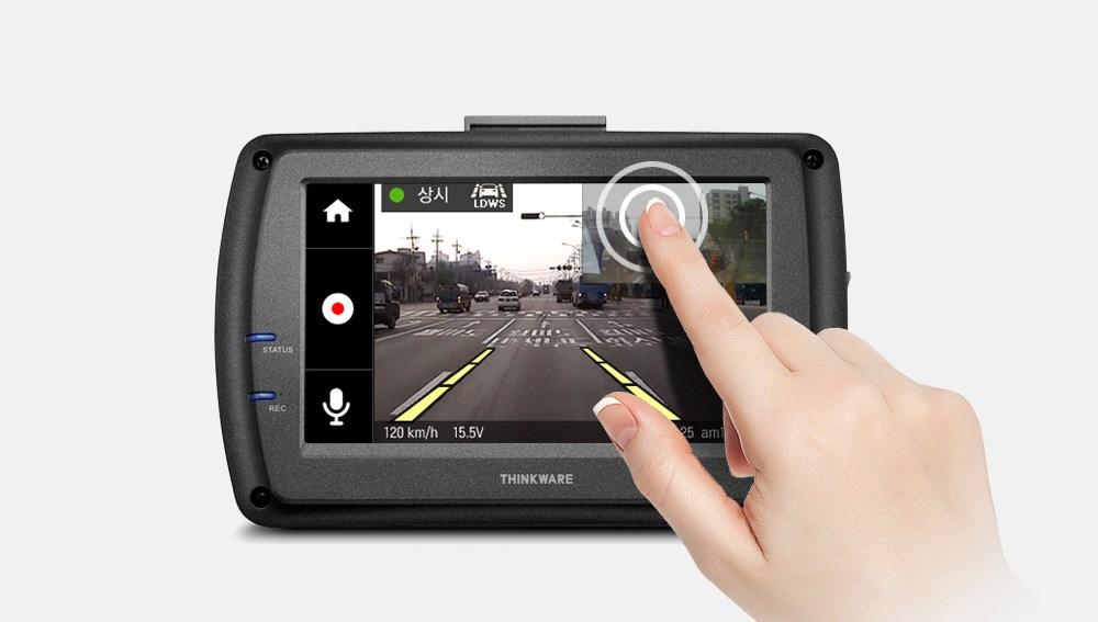 3.5인치 대화면 Full Touch LCD 블랙박스