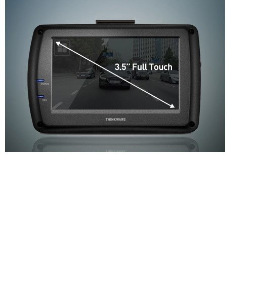 3.5인치 Full Touch LCD Screen