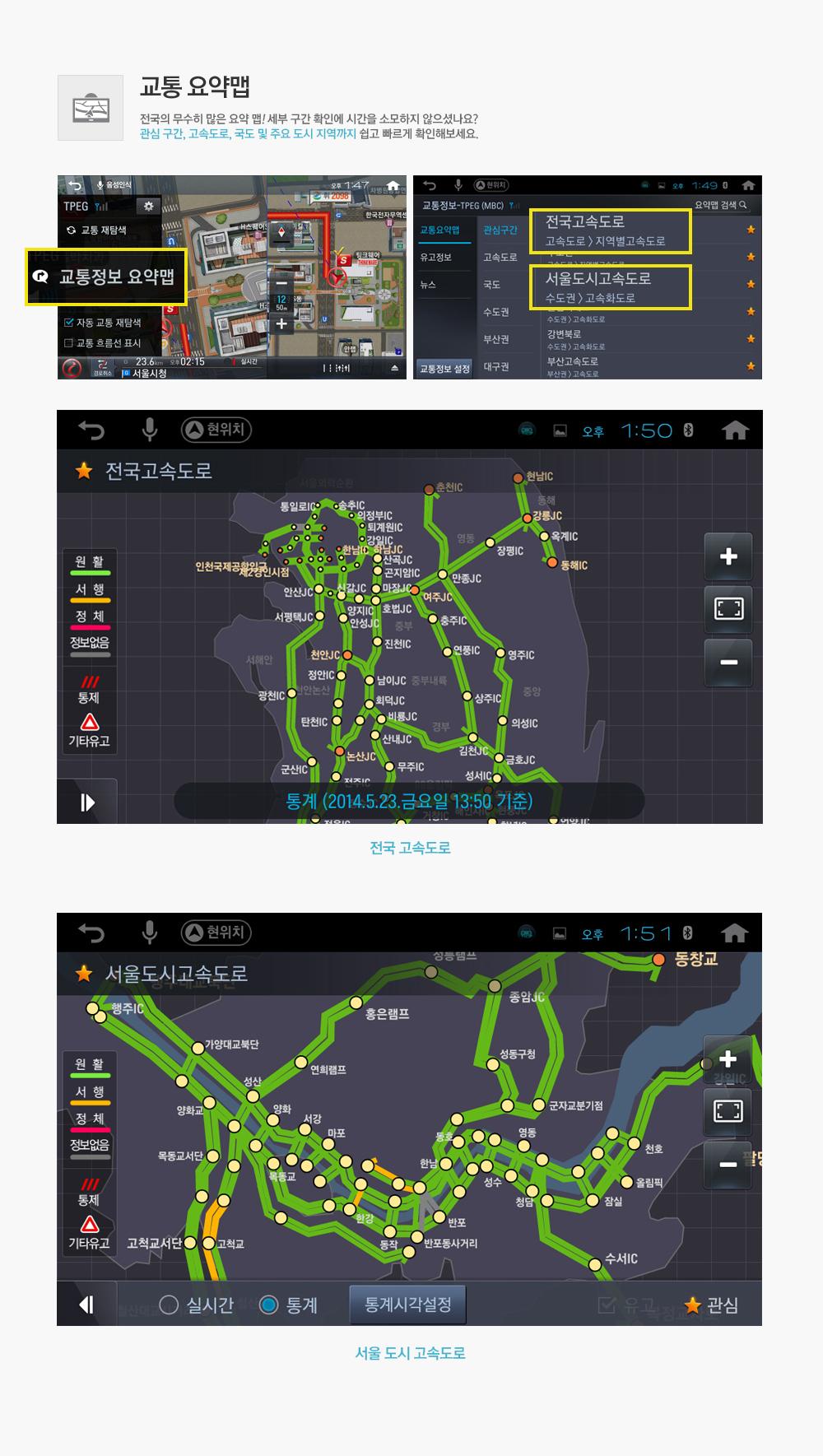 교통 요약맵